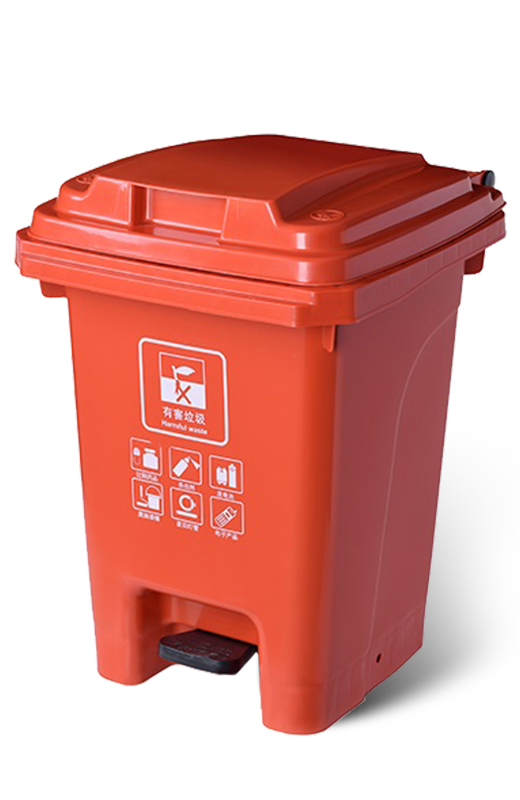 Guidelines for the placement of trash bins in the community