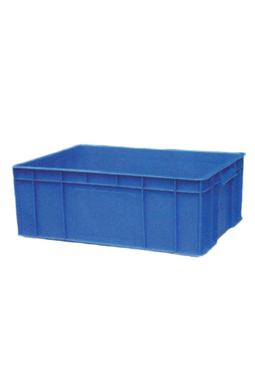 Stackable plastic storage box